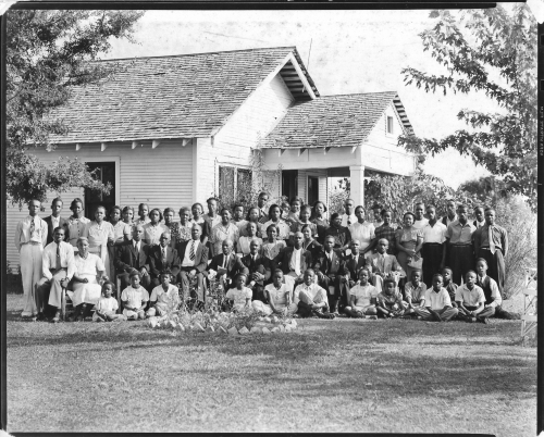 Muldrow Family Reunion circa 1930's